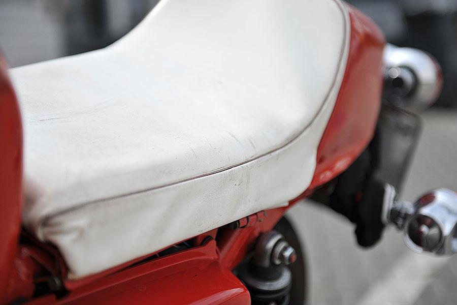 Motorrad Reparatur Sitzbank vorhersitzbank