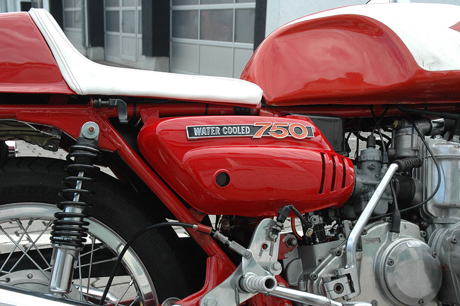 Motorrad Kunststoffreparatur nachher